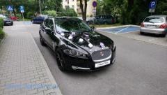 Jaguar XF do ślubu Kraków i okolice